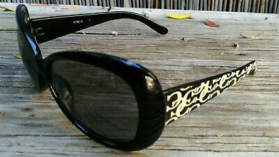 Vintage Chanel Designer Graffiti Sunglasses No Scratches Vgc