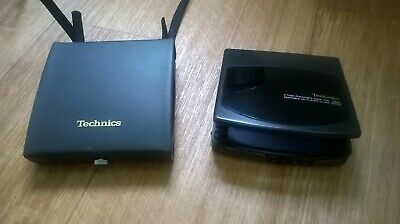 Vintage / Retro Technics SL-XP6 Portable walkman Personal CD player & Case