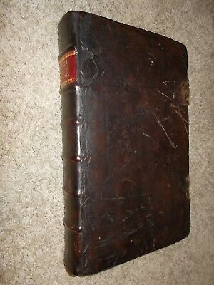 1684-Acts and Monuments-Foxe's Book of Martyrs-Vol. 3-Original Binding+Clasps!!!
