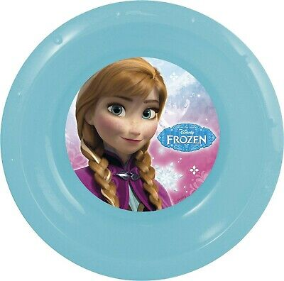 Official Disney Frozen 5Pc Meal Set Picnic Kids Dinner Cup Plate Fork Spoon New