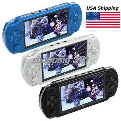 8GB 4 3 INCH Video Game Console Built In 2000 Games Handheld