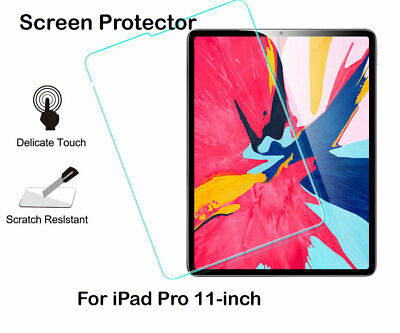 """Apple iPad Pro 11""""-inch  PET Screen Protector / Tempered Glass Screen Protector"""