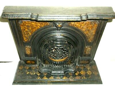 Fine Antique 19Th C Rare Miniature Salesman Sample/Shop Display Fireplace C1860