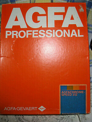 AGFA Prof AGFAChrome Speed 312 White Semi Matt 8x10 10 Sheets ASC 312 Unopened