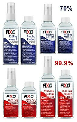 Rubbing Alcohol 70%&99.9% Isopropanol Alcohol Multipurpose FIRST AID ANTISEPTIC