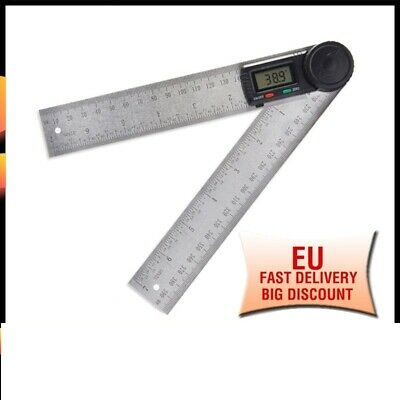 Digital Angle Finder Protractor Angle Lock 360 Degree Protractor Ruler Meter