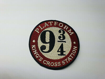 Quality Iron/Sew on HARRY POTTER PLATFORM 9 3/4 patch  Hogwarts Express Hagrid