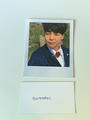 BTS Young Forever JIMIN Official Photocard
