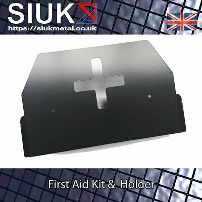First Aid Kit & Wall Mount Bracket 10 Person 10HSE Van Workshop Kitchen Office
