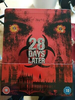 28 Days Later Zavvi UK Blu Ray Steelbook *good condition* ships worldwide