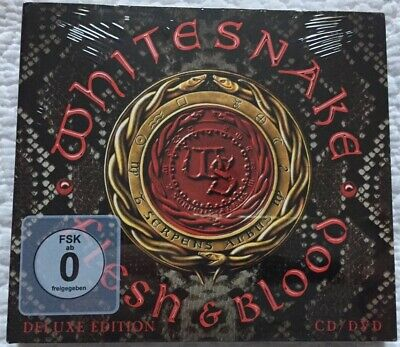 Whitesnake Flesh & Blood (2019) CD/DVD Deluxe Edition New & Sealed