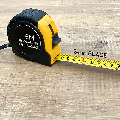 Personalised Engraved 7.5 Metre Tape Measure Gift For Him BIRTHDAY PRESENT