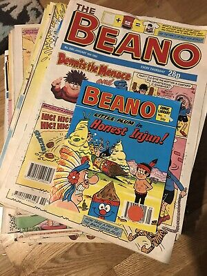 The Beano 100+ issues, see pics for issue details