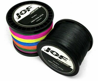 PE Braided Wire 300M 500M 1000M 8 4 Strands 10 80 LB Super Strong Fishing Line