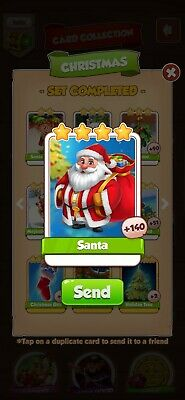 Santa Coin Master Card *Fast Delivery*