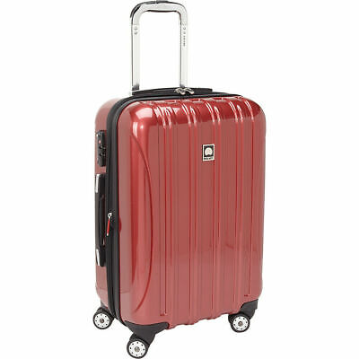 """DELSEY Paris Luggage Helium Aero 21"""" Carry-On Expandable Spinner Trolley, Brick"""
