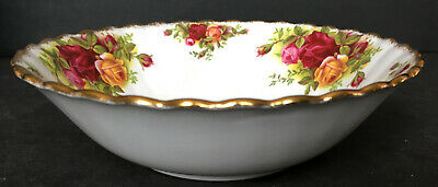 Royal Albert Old Country Roses Cereal Or Soup Bowl First Quality England