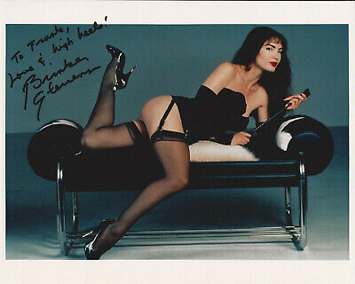 BRINKE STEVENS HAND SIGNED / AUTOGRAPHED 8x10 COLOR GLOSSY PHOTOGRAPH INSCRIBED