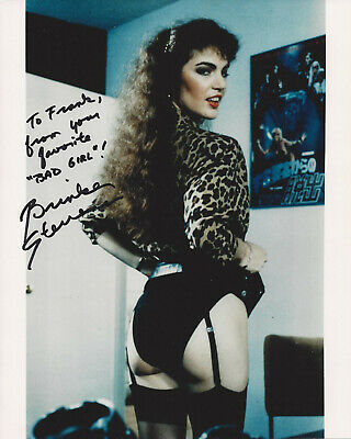 BRINKE STEVENS HAND SIGNED / AUTOGRAPHED 8x10 COLOR GLOSSY  INSCRIBED PHOTO