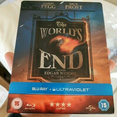 The Worlds End Zavvi U.K Blu-ray SteelBook - ships worldwide