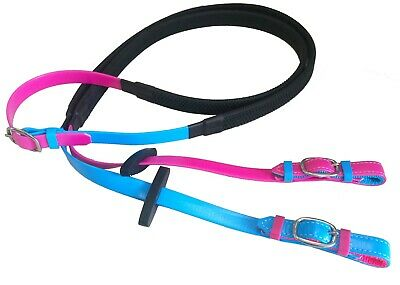 PVC Reins - LOTS of COLOURS available - ALL sizes