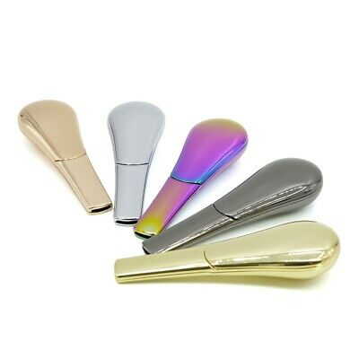 Rainbow Portable Spoon Smoking Pipe Magnetic Metal Tobacco Accessories Gift Box