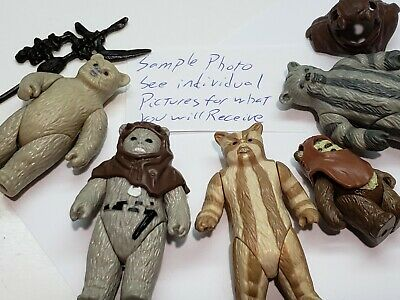 Star Wars Vintage CHOOSE Ewoks Logray Chief Chirpa Wicket Headgear Teebo