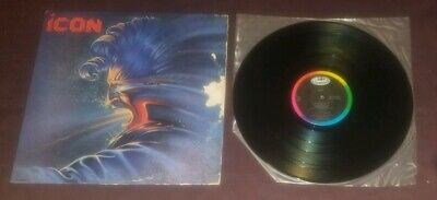 Icon self titled LP 1984 Capitol ST-12336 exc hair metal glam rock