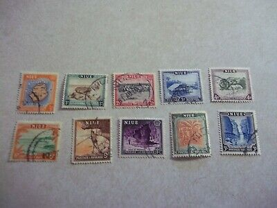 NIUE Cook Islands Stamps SG 113-22 Scott 94-108 Fine Used