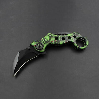 Multi-Function Survival Camping Tactical Tool Folding Portable Knife O FTO