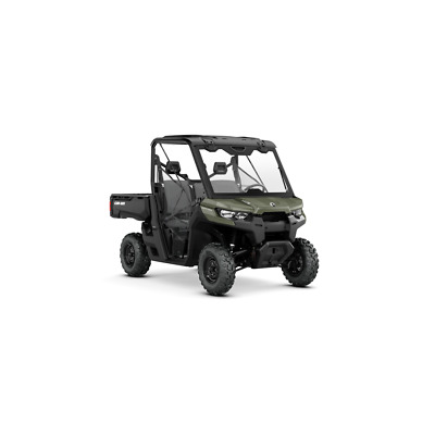 Can-Am Defender HD8 With Attachments Fitted