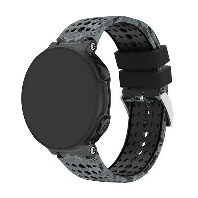 Printing Soft Silicone Watch Band Strap for Garmin Forerunner 220/230/235/620/63