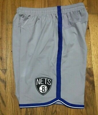 Authentic Adidas Brooklyn Nets Team Issued NBA on court basketball shorts