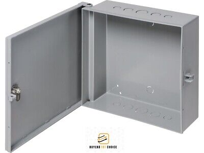 "Arlington Outdoor Electric Cabinet Enclosure Box Heavy Duty Plastic 12"" x 12"""