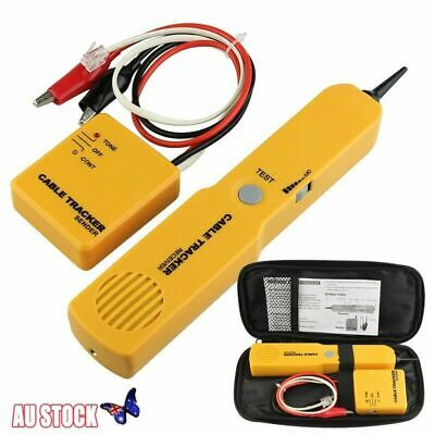 RJ11 Cable Finder Tone Generator Probe Tracker Wire Network Tester Tracer