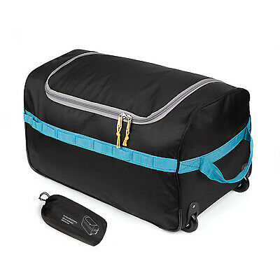 REDCAMP 26'' Foldable Rolling Wheeled Tote Duffle Bag Luggage Travel Suitcase