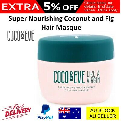 Coco & Eve Super Nourishing Coconut and Fig Hair Masque 212ml Conditioner Oil