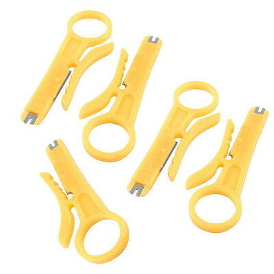 5 X Network Lan Wire Cord Punch Down Cable Cutter Stripper UTP RJ45 Safe Supply