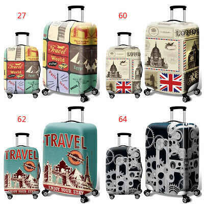Luggage Case Cover Suitcase Protect Elastic For Outdoors Travel 18/20/24/28 Inch