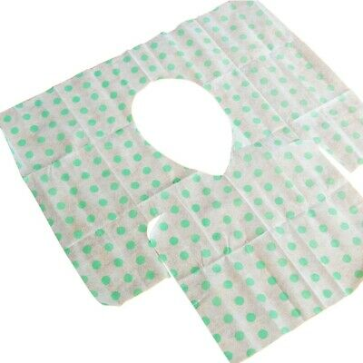 20Pcs Disposable Toilet Paper Seat Cover Extra Waterproof Film Large Seat Covers