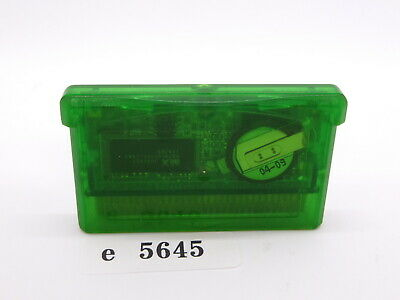 POKEMON EMERALD GameBoy Advance GBA Japanese Nintendo Tested! Cartridge e5645