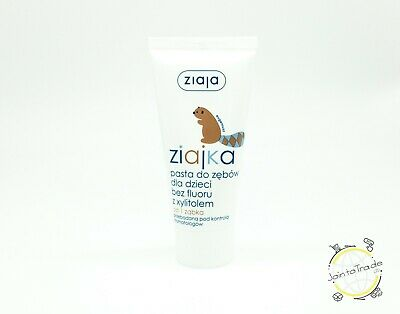 ZIAJA ZIAJKA TOOTHPASTE FOR CHILDREN WITHOUT FLUORIDE WITH XYLITOL 50 ml