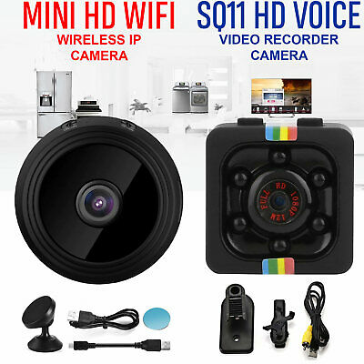 Mini IP Camera Wireless WiFi HD 1080P Home Security IR Night Vision Nanny Cam UK