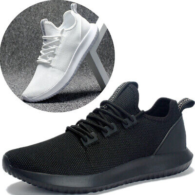 Mens Casual Sports Shoes Trainers Fashion Running Athletic Sneakers Blue Black
