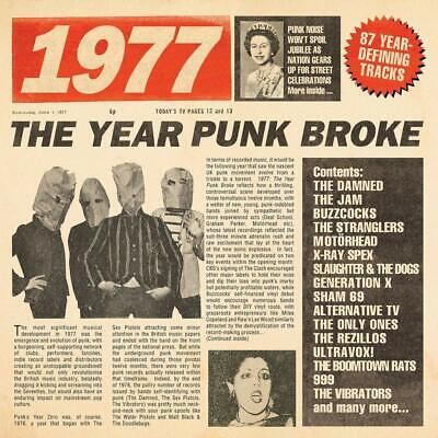 Various Artists	1977 - The Year Punk Broke: 3CD Boxset CD ALBUM NEW (28TH JUNE)
