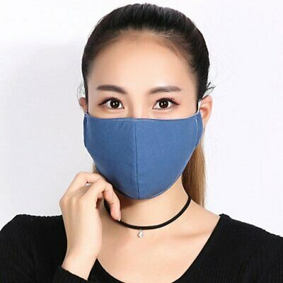 T09 Breathable Soft Warm Full Cover Mouth Mask Winter Cyling Accessories AU