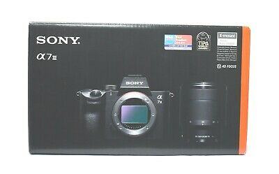SONY Alpha a7 III Mirrorless Camera ILCE-7M3K Zoom Lens Kit Japan Ver. New