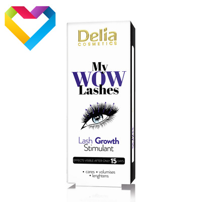 Delia Cosmetics My WOW Lashes Eyelash Growth Stimulant Serum Conditioner 3ml