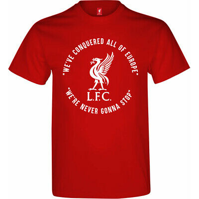 Liverpool FC OFFICIAL WINNERS T-shirt Champions League Cup Final Madrid 2019