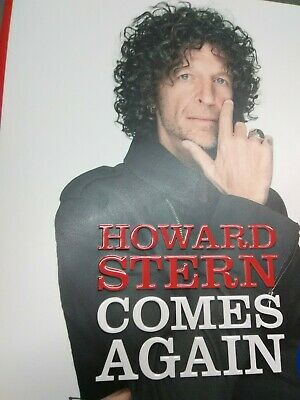 """Brand New! """"Howard Stern Comes Again""""/Hardcover – May 14, 2019/$35/Unread"""